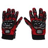 SODIAL(R) Herren Thermische Winter Wasserdichte Warme Handschuhe Fingerhandschuh Motorrad Handschuhe Idee fuer Outdoor Radfahren Skifahren Wandern Rot (XL Groesse)