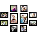 Mom's Creations Wall Decor Photo Frame Pack of 10 (4 * 6,5 * 5,6 * 8)