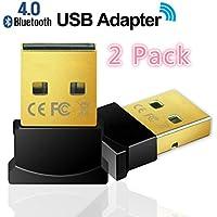 sditechly Bluetooth Dongle USB, Bluetooth 4.0adattatore per PC con Win 10, 8, 7, XP supporto cuffie, altoparlanti, ecc.