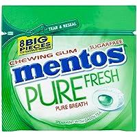 Mentos Gomme Menthe Verte Avec Du Thé Vert