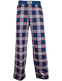 0d5adef4a2b6a ... for Clothing : Men : Nightwear. Marvel Mens Captain America Lounge Pants