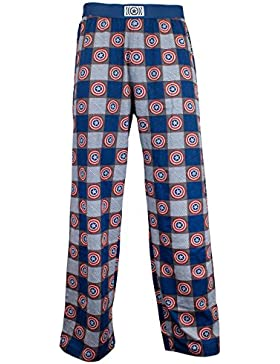 Marvel Avengers - pantalones del pijama para Hombre - Capitán América
