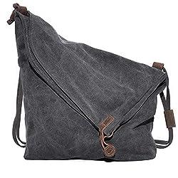 VADOOLL(R) Canvas Unisex Tasche retro literarischen Hochschule Stil Schultertasche Messenger Bag koreanische Version