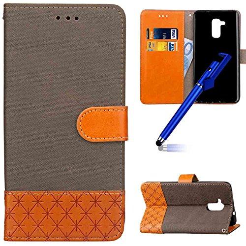 MoreChioce kompatibel mit Huawei Honor 5C Hülle,kompatibel mit Huawei Honor 5C Handyhülle, Elegant Wallet Case Schutzhülle Klapphülle Flip Case Bookstyle Ledertasche Magnetische Braun,EINWEG