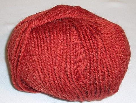 Katia en laine vierge/Alpaga fil Pérou dans rouille (16)
