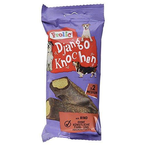 Frolic Django Knochen Hundesnacks mit Rind, 170 g