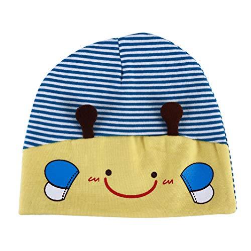 SHIJIANDE Baumwolle Beanie Hüte für Kinder Neugeborenen Beanie Cap Cute Bee Schlaf Knit Beanie Hat Warme Mode Weiche Warme Mütze für Jungen Mädchen Knit Knot Hat