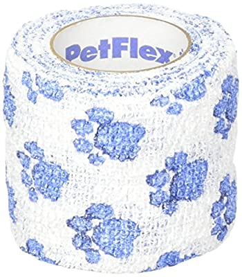Pet Flex Bandage Paw Print, 5 cm by CHUSQ