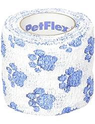 Pet Flex Bandage Paw Print, 5 cm