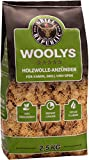 Ofenanzünder / Kaminanzünder aus ökologischer Holzwolle und Wachs mit langer Brenndauer I Hochwertige Anzünder geeignet für Kamin, Ofen und Grill I 2,5 kg