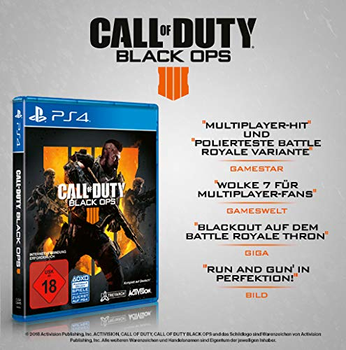 formel eins ps4 Call of Duty Black Ops 4 - Standard Edition - [PlayStation 4]