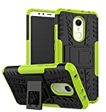 #5: Parallel Universe Original Xiaomi Redmi 5 Back Cover Case Dual Layer Rugged and Tough Defender With Bult in stand - Green