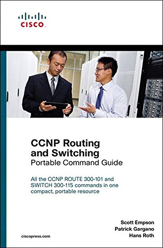 CCNP Routing and Switching Portable Command Guide: Exam 37 Porta Comma ePub _2 (English Edition) por Scott Empson