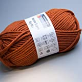 Schachenmayr Merino Super Big Mix 010 marone 100g Wolle
