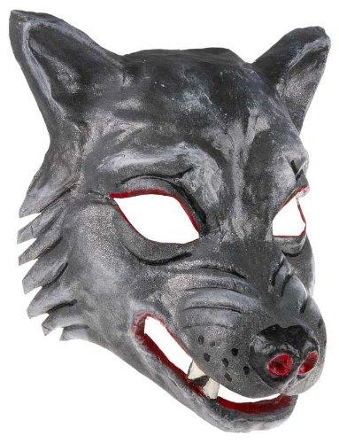 Böser Wolf Maske Kindermaske Theater Tiermasken