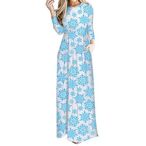 Aelegant - Abito - donna Blau