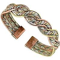 Magnetic 17m neodymium, Copper Bracelet / Bangle - Brand New Delicately Handcrafted in The U.K. 3 Colour Copper... preisvergleich bei billige-tabletten.eu
