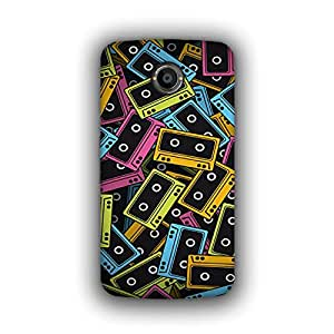 Caseque (Pro) Comic Cassette Back Cover for Google Nexus 6