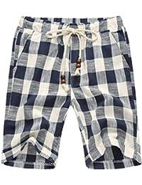 Lannister Fashion Casual Hommes Shorts À Extérieur Respirant Confortable  Pantalons Carreaux De Vêtements de fête Plage d67bba62f0d