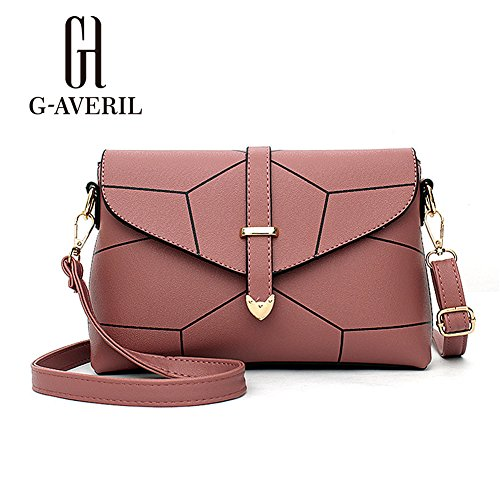 G-AVERIL, Borsa a mano uomo Silvery Rubber red