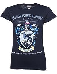 Harry Potter Ravenclaw Quidditch Team Damen T Shirt Navy Blau