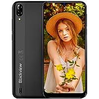 Smartphone Offerta del Giorno 2019, Blackview A60 6.1'' Waterdrop Schermo, 13MP+5MP, 4080mAh Batteria Cellulari Offerte, 128GB Espandibili Cellulari, Dual SIM Telefonia Mobile, 16G ROM, Android 8.1