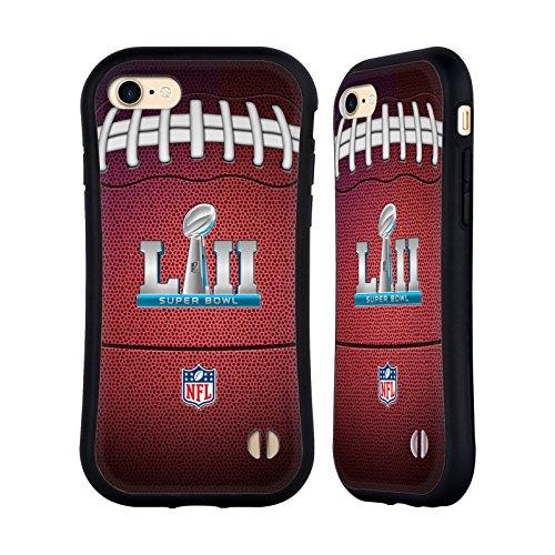 Ufficiale NFL Testo Minnesota 2018 Super Bowl LII Case Ibrida per Apple iPhone 6 / 6s Calcio