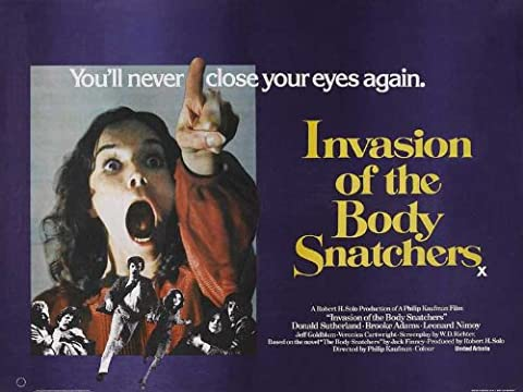 Invasion of the Body Snatchers Plakat Movie Poster (30 x 40 Inches - 77cm x 102cm) (1978) (Brooke Adams Weihnachten)