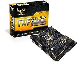Asus TUF Z370-Plus Gaming Mainboard Sockel 1151 (ATX, Intel Z370, Coffeelake, 4x DDR4-Speicher, USB 3.1, M.2 Schnittstelle)