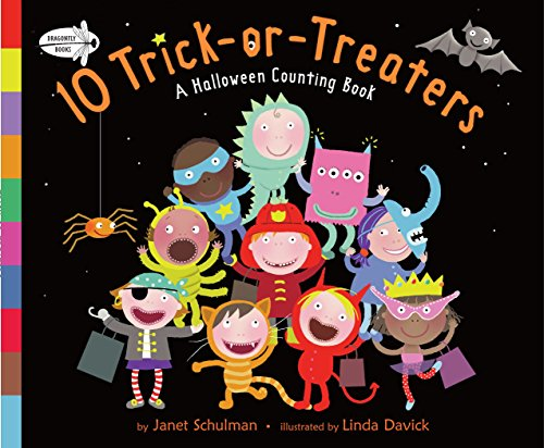 10 Trick-Or-Treaters: A Halloween Counting Book por Janet Schulman