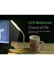 SWAPKART Portable USB LED Desk Lamp for Reading and Laptop Working,PC Working,Bedroom Lamp and Other Uses