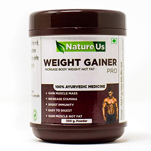 Natureus Ayurvedic Medicine Weight Gainer Increase Muscles Powder Health Care Supplement