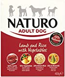 Naturo Wet Dog Food Adult Lamb and Rice 400 g (Pack of 10)
