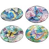 Sigris - Plato x4 Colores Cristal 20 cm