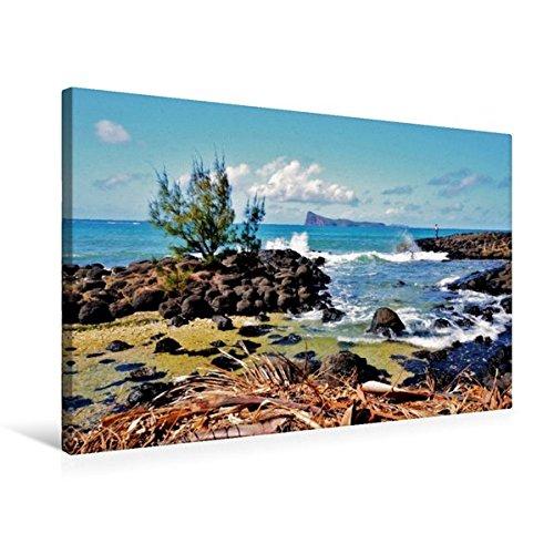 Preisvergleich Produktbild Premium Textil-Leinwand 75 cm x 50 cm quer, Mauritius | Wandbild, Bild auf Keilrahmen, Fertigbild auf echter Leinwand, Leinwanddruck: Cap Malheureux (CALVENDO Orte)