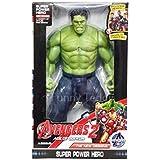 Funny Teddy Super Hero Action Figure (Hullk) - 26 Cm | Lighting Effect | Toy For Kids | Birthday Gift