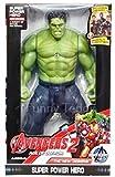 #7: Funny Teddy Super hero Action figure (Hullk) - 26 cm | Lighting Effect | Toy for Kids | Birthday Gift