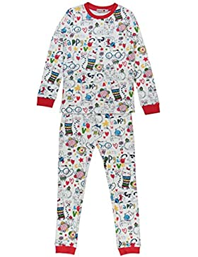 boboli Interlock Pyjamas For Girl, Pigiama Bambina