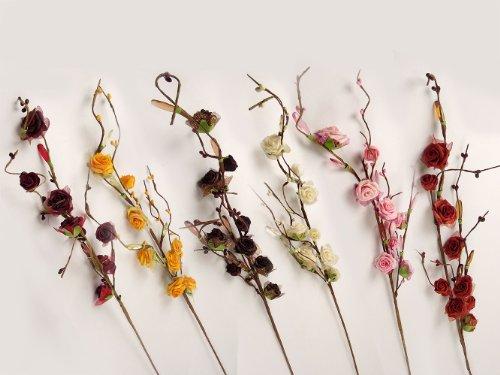 9-head-crystal-foam-rose-spray-brown-artificial-flowers