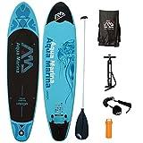AQUA MARINA, VAPOR+ALU-Paddle+LEASH, Paddle Board, SUP, 330x75x10 cm