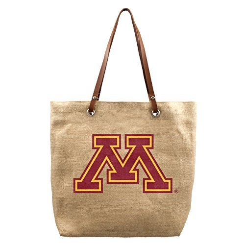 ncaa-minnesota-golden-gophers-burlap-market-tote-17-x-45-x-14-inch-natural-by-littlearth