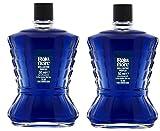 Garnier - Roja Flore - Brillantine parfum bleu 'saphir' - Lot de 2