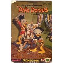 EL PATO DONALD. Supernúmero - No. 573 - Año XII, agosto de 1955