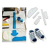 Albeey Baby Schuhe Fondantform Sugarcraft Cutter Kuchen Dekoration Set