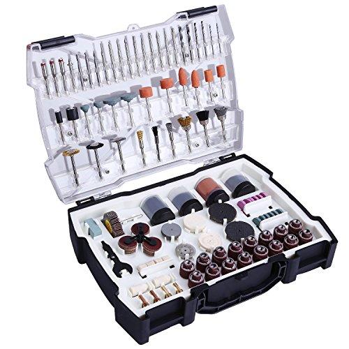 """Accesorios de herramientas rotativas, Tacklife ARTO2C diámetro de mangos 1/8""""(3.2mm) con 4 Chucks universales para amoladora eléctrica de corte, amolado, lijado, afilado, tallado y pulido de accesorios"""
