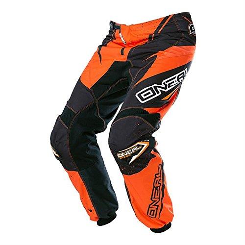 O' neal Element MX DH MTB Pant pantaloni lunghi da Racewear Arancione/Nero 2017Oneal