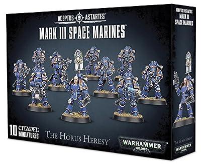 Adeptus Astartes - Mark III Space Marines 01-05 - Warhammer 40,000