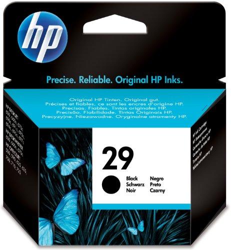 29 Drucker (HP 29 Schwarz Original Tintenpatrone groß)
