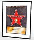 Urkunde Star of the World mit individueller Beschriftung