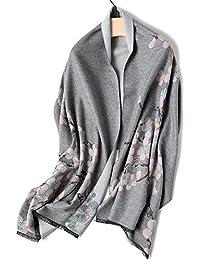 GYH Poncho Châle Femmes Oversized Echarpe Epaisse Cachemire Blanket Manteau  Cape Chaud Automne Hiver f1cce1ef817